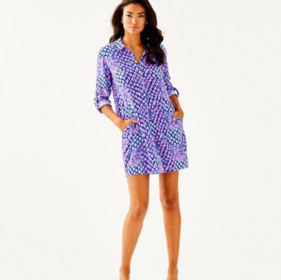 35bbdaa4404 Lilly Pulitzer Dresses | Purple Lillith Tunic Dress | Poshmark